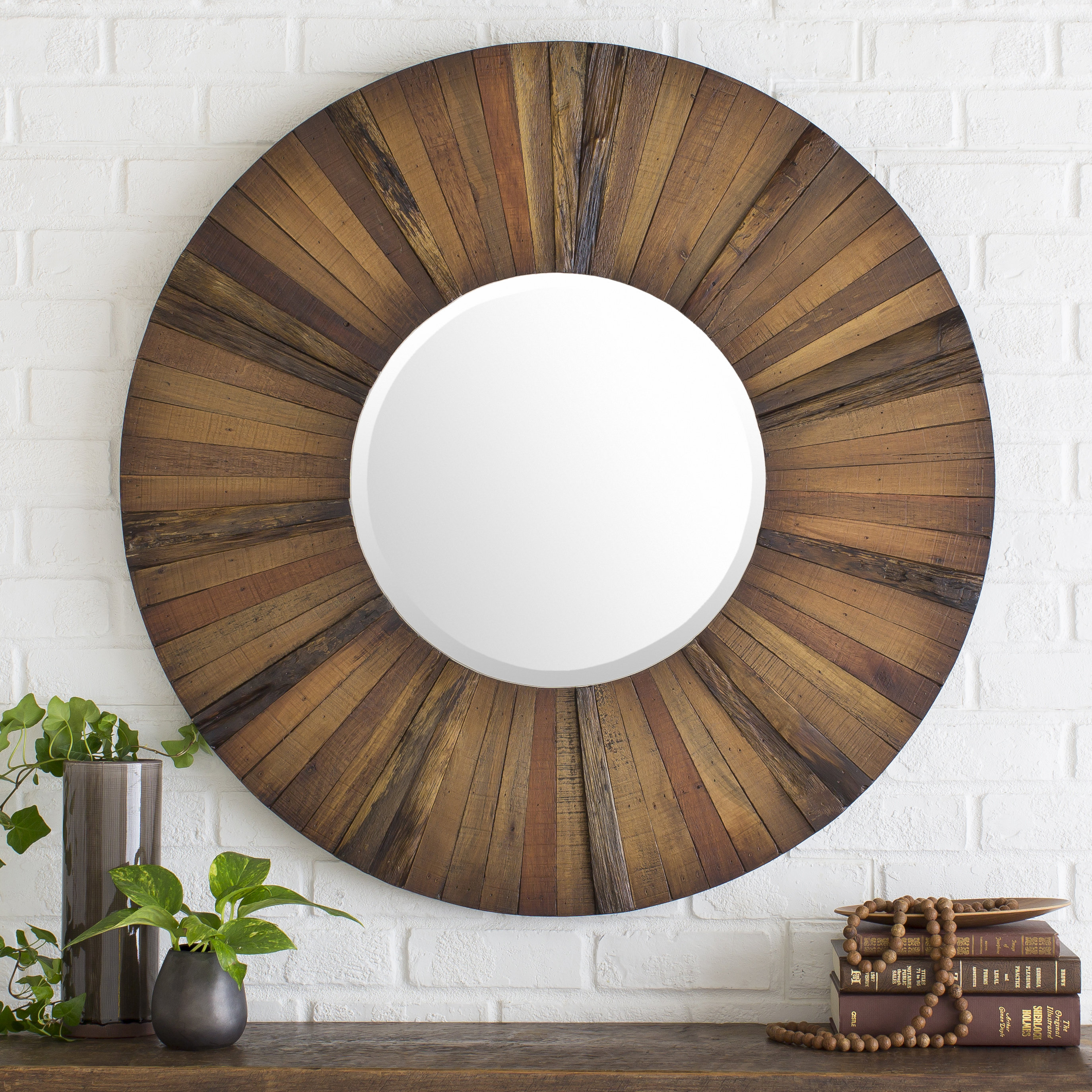 Farmhouse & Rustic Loon Peak Wall & Accent Mirrors | Birch Lane Regarding Cromartie Tree Branch Wall Mirrors (Image 7 of 20)