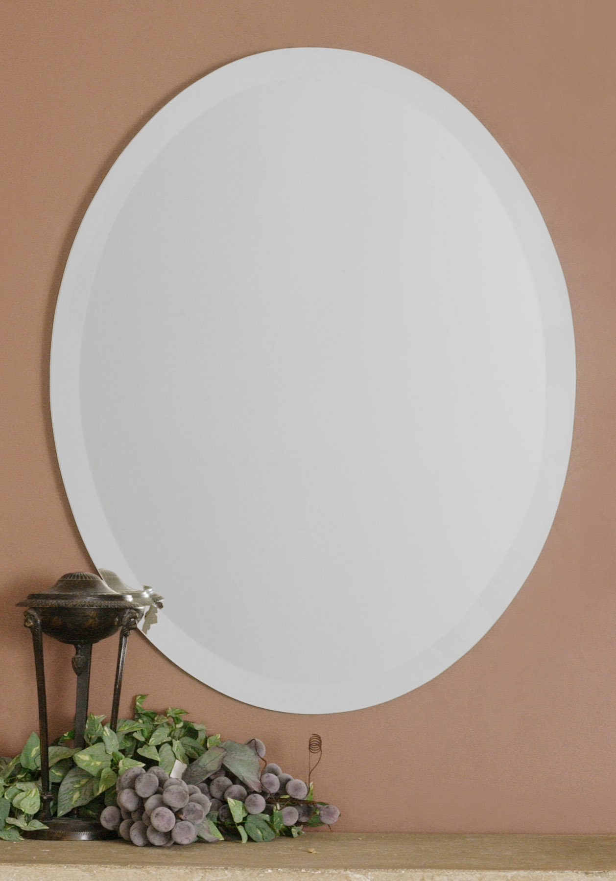 Farmhouse & Rustic Red Barrel Studio Wall & Accent Mirrors Pertaining To Hallas Wall Organizer Mirrors (Image 3 of 20)