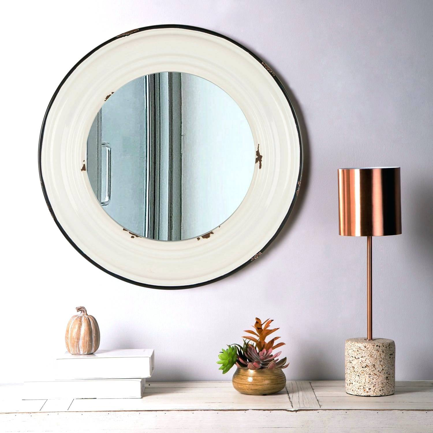 Farmhouse Wall Mirror – Blondin (View 14 of 20)