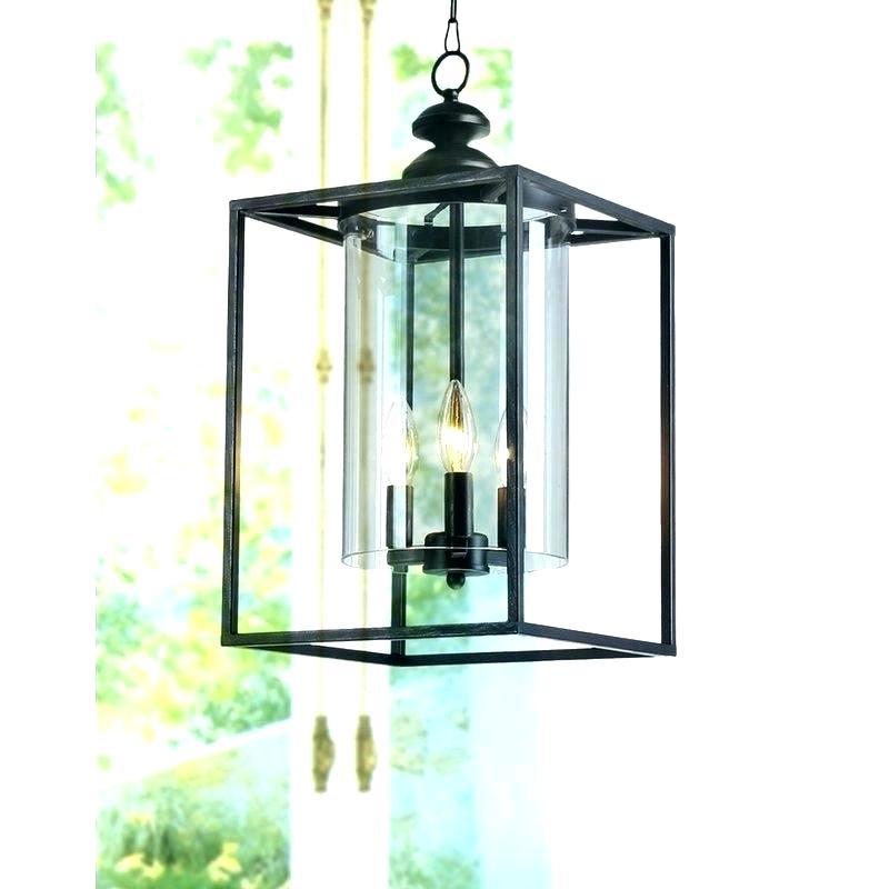 Farrier 3 Light Foyer Pendant – Arborheightspta In Farrier 3 Light Lantern Drum Pendants (Image 7 of 25)