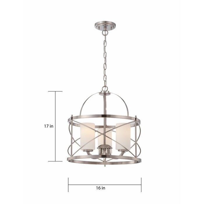 Farrier 3 Light Lantern Drum Pendant Intended For Farrier 3 Light Lantern Drum Pendants (Image 10 of 25)