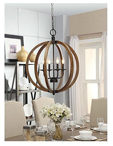 Favorite Light Fixtures For Fixer Upper Style | Johanna Inside Gaines 5 Light Shaded Chandeliers (View 10 of 20)