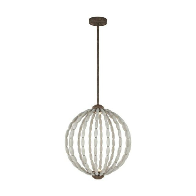 Feiss Orren 2 Light Pendant, Grey/weathered Iron, (View 7 of 25)