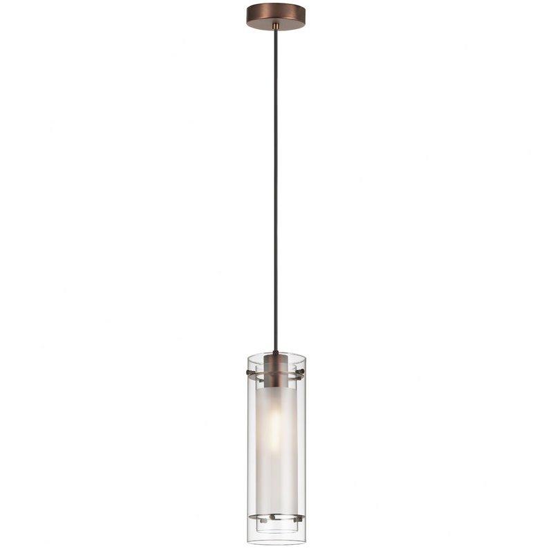 Fennia 1 Light Single Cylinder Pendant Inside Helina 1 Light Pendants (Image 5 of 25)
