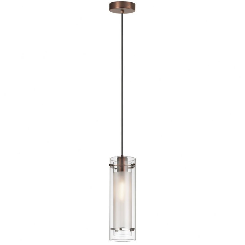 Fennia 1 Light Single Cylinder Pendant Throughout Callington 1 Light Led Single Geometric Pendants (View 17 of 25)