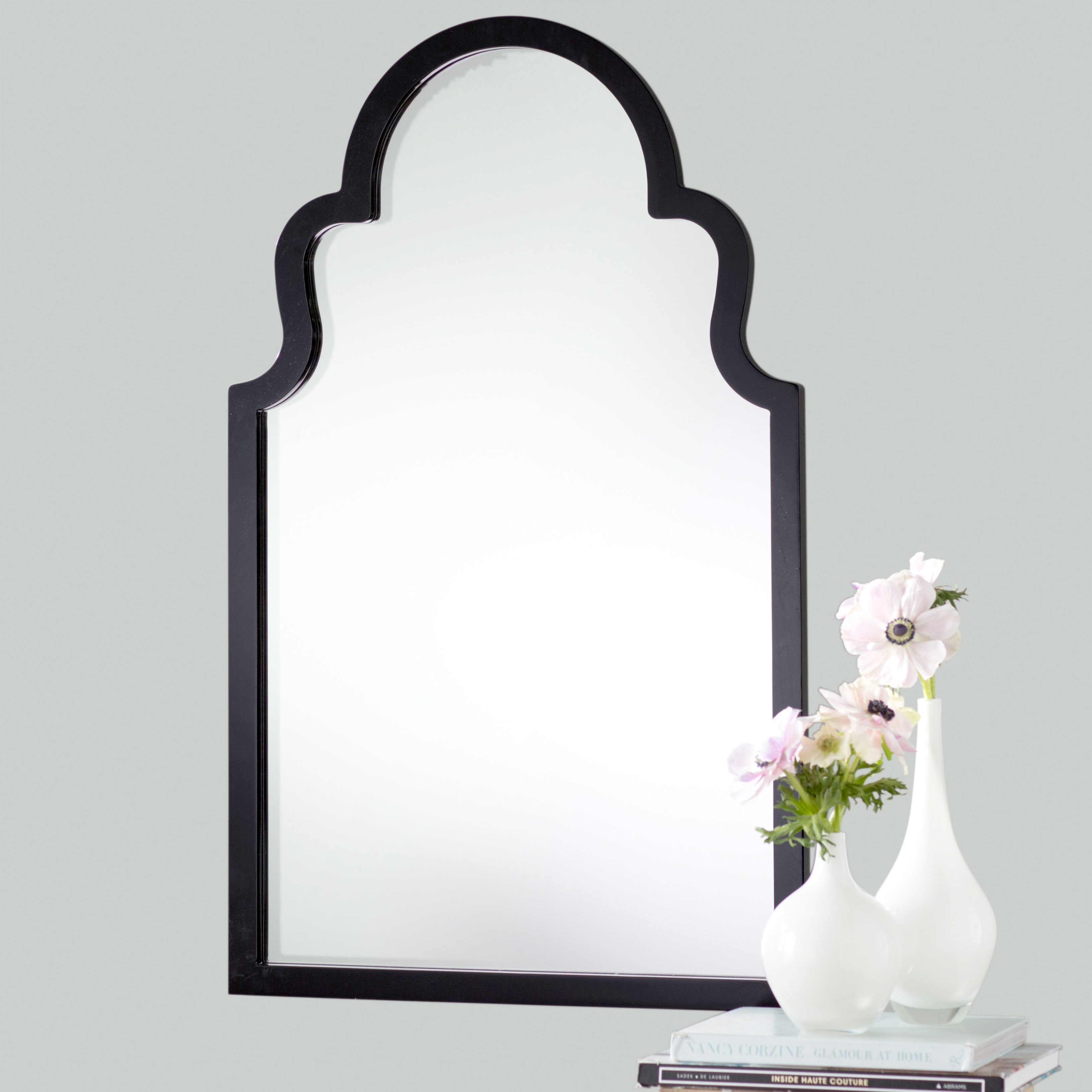 Fifi Contemporary Arch Wall Mirror With Arch Top Vertical Wall Mirrors (Image 11 of 20)