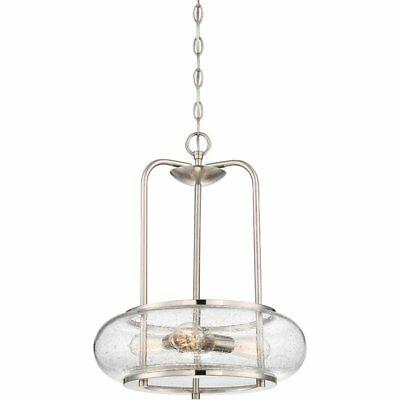 Filament Design Nicolay 3 Light Brushed Nickel Pendant Throughout Farrier 3 Light Lantern Drum Pendants (Image 18 of 25)