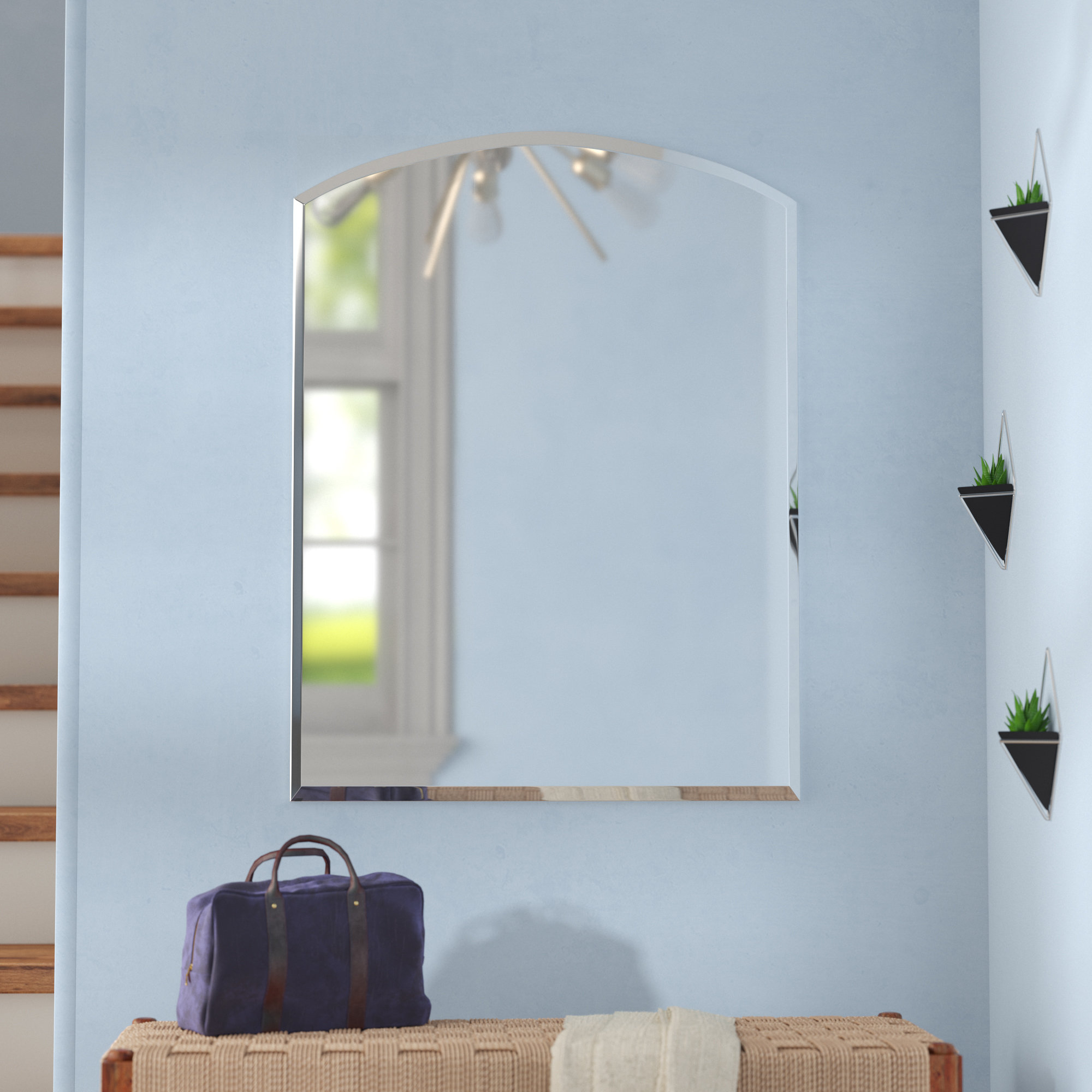 Find The Perfect Wade Logan Vanity Mirrors | Wayfair Throughout Northend Wall Mirrors (View 10 of 20)