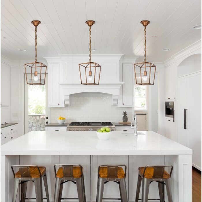 Finnick 1 Light Geometric Pendant In 2019 | Home Envy With Regard To Finnick 1 Light Geometric Pendants (View 6 of 25)