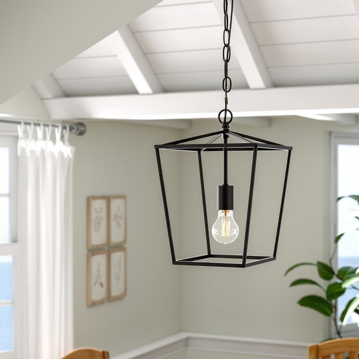 Finnick 1 Light Geometric Pendant With Finnick 1 Light Geometric Pendants (View 3 of 25)