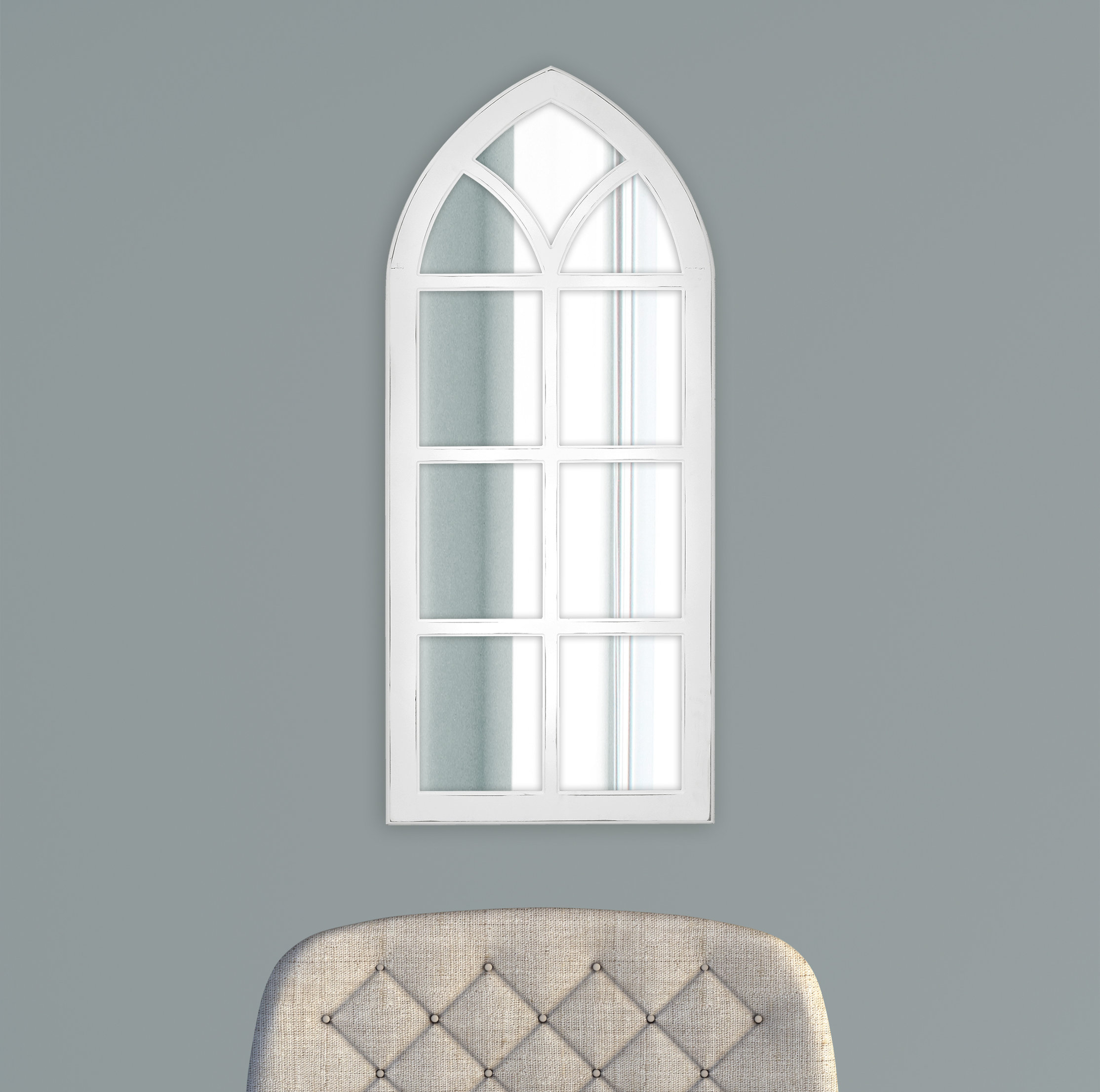 Fiscus Windowpane Wall Accent Mirror With 2 Piece Kissena Window Pane Accent Mirror Sets (View 16 of 20)