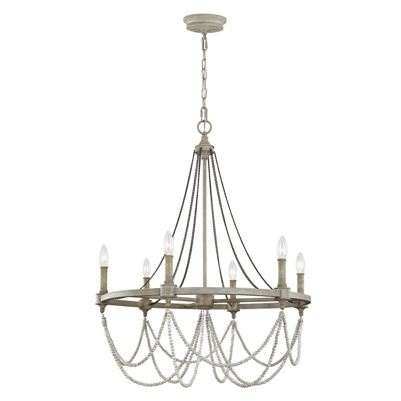 Fitzgibbon 6 Light Candle Style Chandelier Pertaining To Ladonna 5 Light Novelty Chandeliers (View 18 of 20)