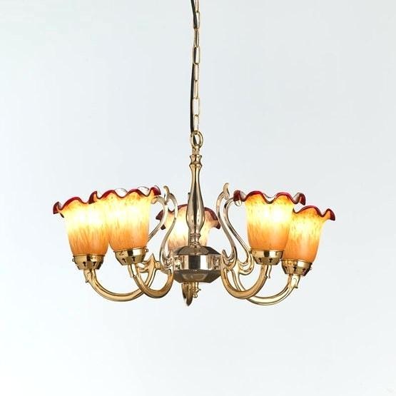 Five Arm Ceiling Light Cafe Pendant Boyd Led 6 Semi Flush Inside Amara 3 Light Dome Pendants (View 22 of 25)