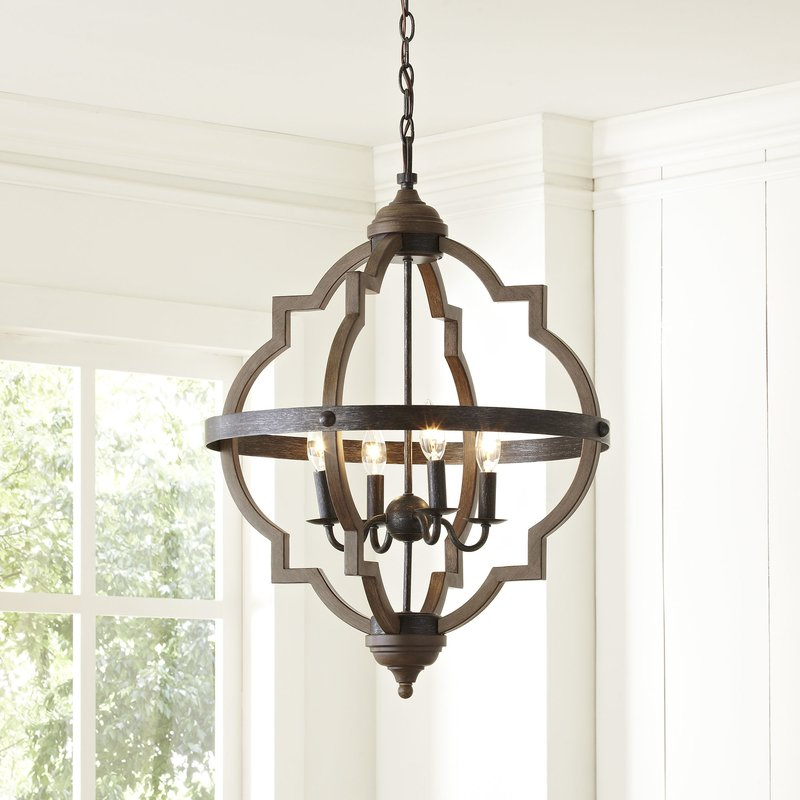 Fixer Upper Lighting For Your Home – The Weathered Fox Regarding Gaines 5 Light Shaded Chandeliers (View 18 of 20)
