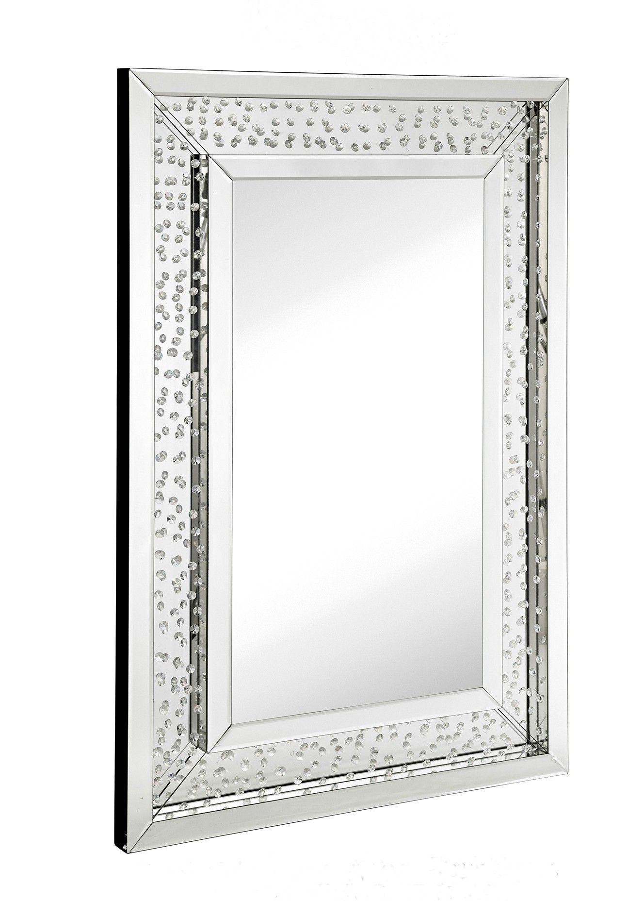 Floating Crystal – Floating Crystal Rectangle Wall Mirror For Modern Rectangle Wall Mirrors (View 18 of 20)