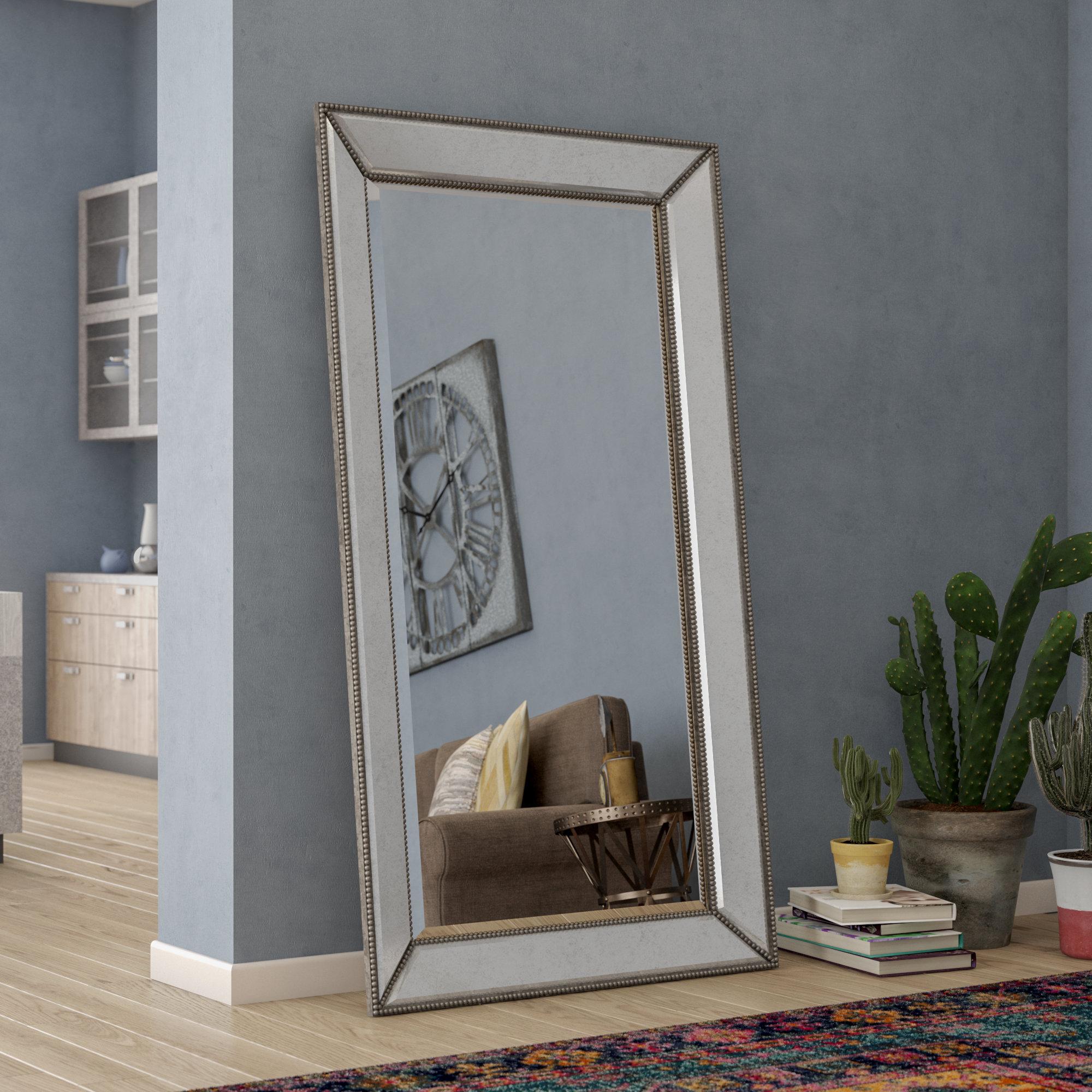 Floor Leaner Mirror | Wayfair Regarding Leaning Mirrors (View 2 of 20)