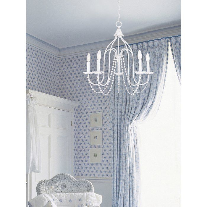 Florentina 5 Light Candle Style Chandelier | Kitchen Intended For Florentina 5 Light Candle Style Chandeliers (View 8 of 20)