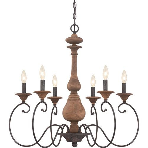 Found It At Joss & Main – Kennedy 6 Light Candle Chandelier Pertaining To Perseus 6 Light Candle Style Chandeliers (View 18 of 20)