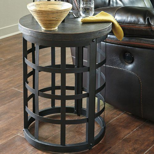 Found It At Joss & Main – Merman End Table | Ideas For The Pertaining To Carbon Loft Fischer Brown Solid Birch And Iron Rustic Coffee Tables (View 14 of 25)