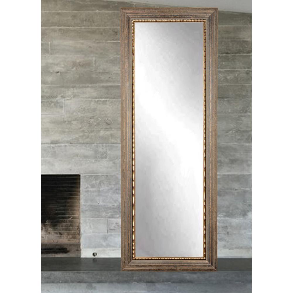 Framed Modern Mirror Metal Framed Peetz Modern Rustic Accent With Peetz Modern Rustic Accent Mirrors (Image 5 of 20)