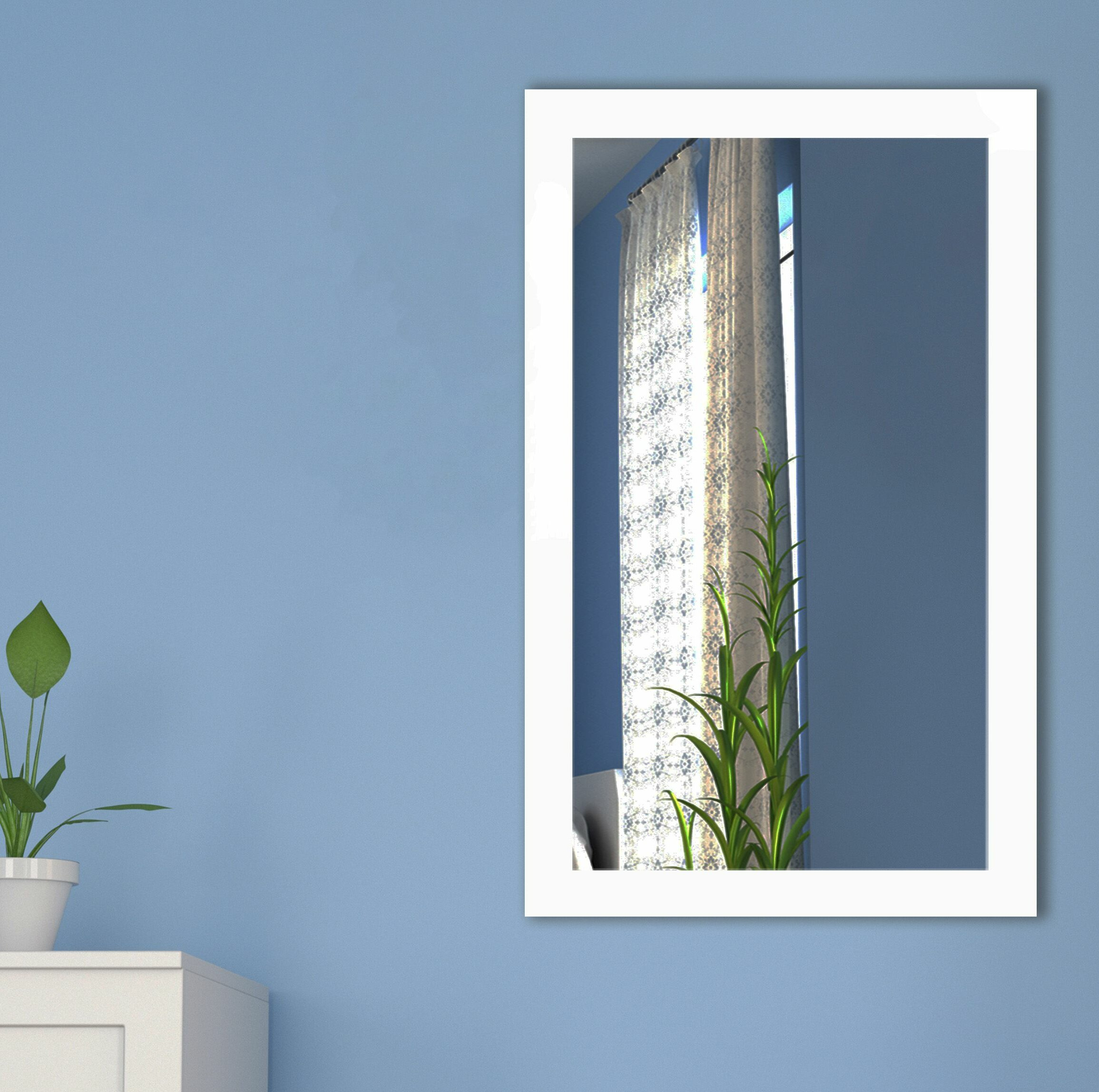 Framed Wall & Accent Mirrors   Allmodern Regarding American Made Accent Wall Mirrors (View 9 of 20)