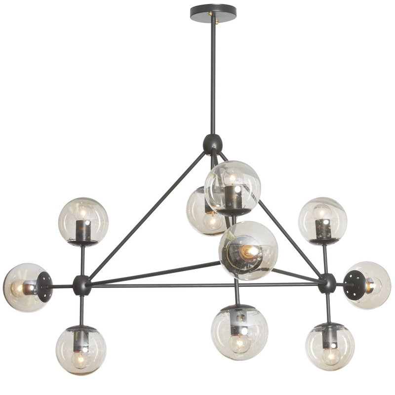 Frederick 10 Light Sputnik Chandelier Pertaining To Asher 12 Light Sputnik Chandeliers (View 20 of 20)