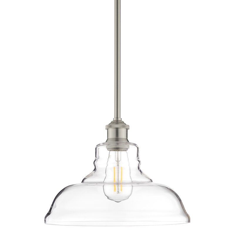 Fresno Dome 1 Light Bell Pendant | Kitchen In 2019 | Kitchen Throughout Fresno Dome 1 Light Bell Pendants (Image 7 of 25)