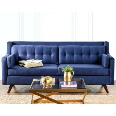 Furniture Of America Sofa Furniture Of America Black Sofa For Carmella Satin Plated Coffee Tables (View 31 of 50)