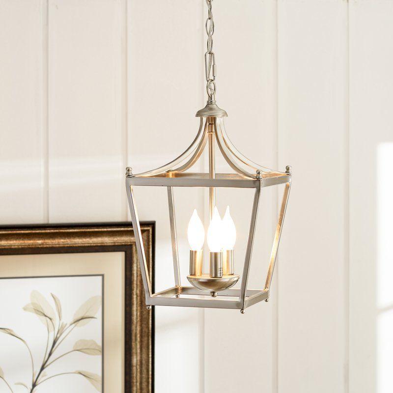 Gabriella 3 Light Lantern Chandelier In 2019   Home Decor Within Gabriella 3 Light Lantern Chandeliers (View 4 of 20)