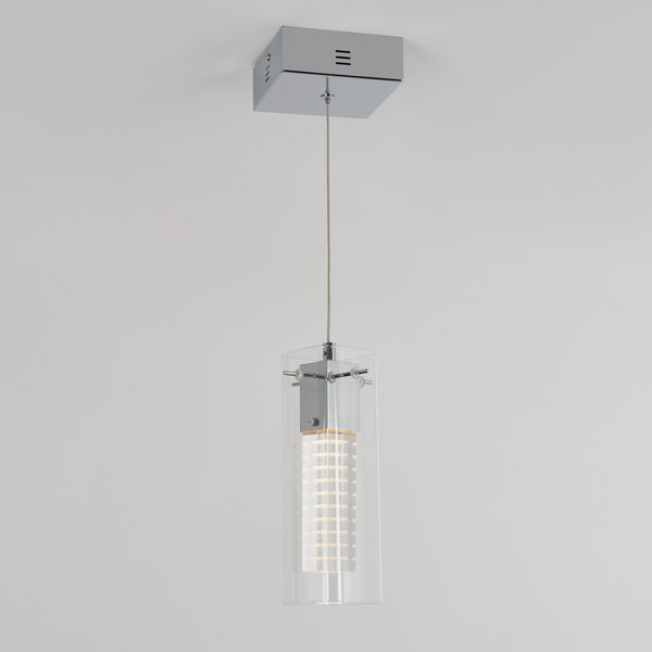 Galesville 1 Light Led Cylinder Pendantorren Ellis Intended For Poynter 1 Light Single Cylinder Pendants (View 20 of 25)