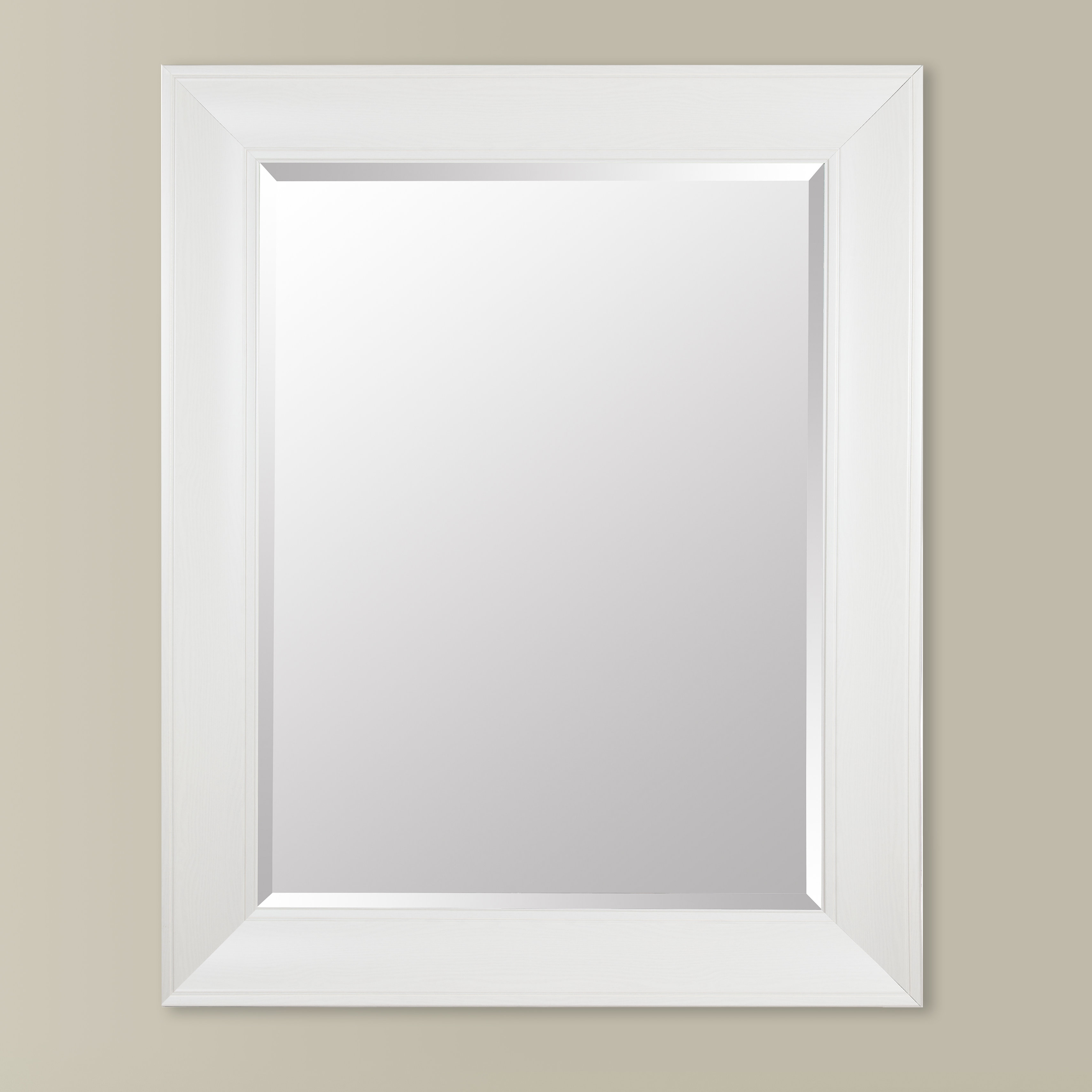 Gallery Solutions Beveled Wall Mirror For Traditional Square Glass Wall Mirrors (Image 5 of 20)