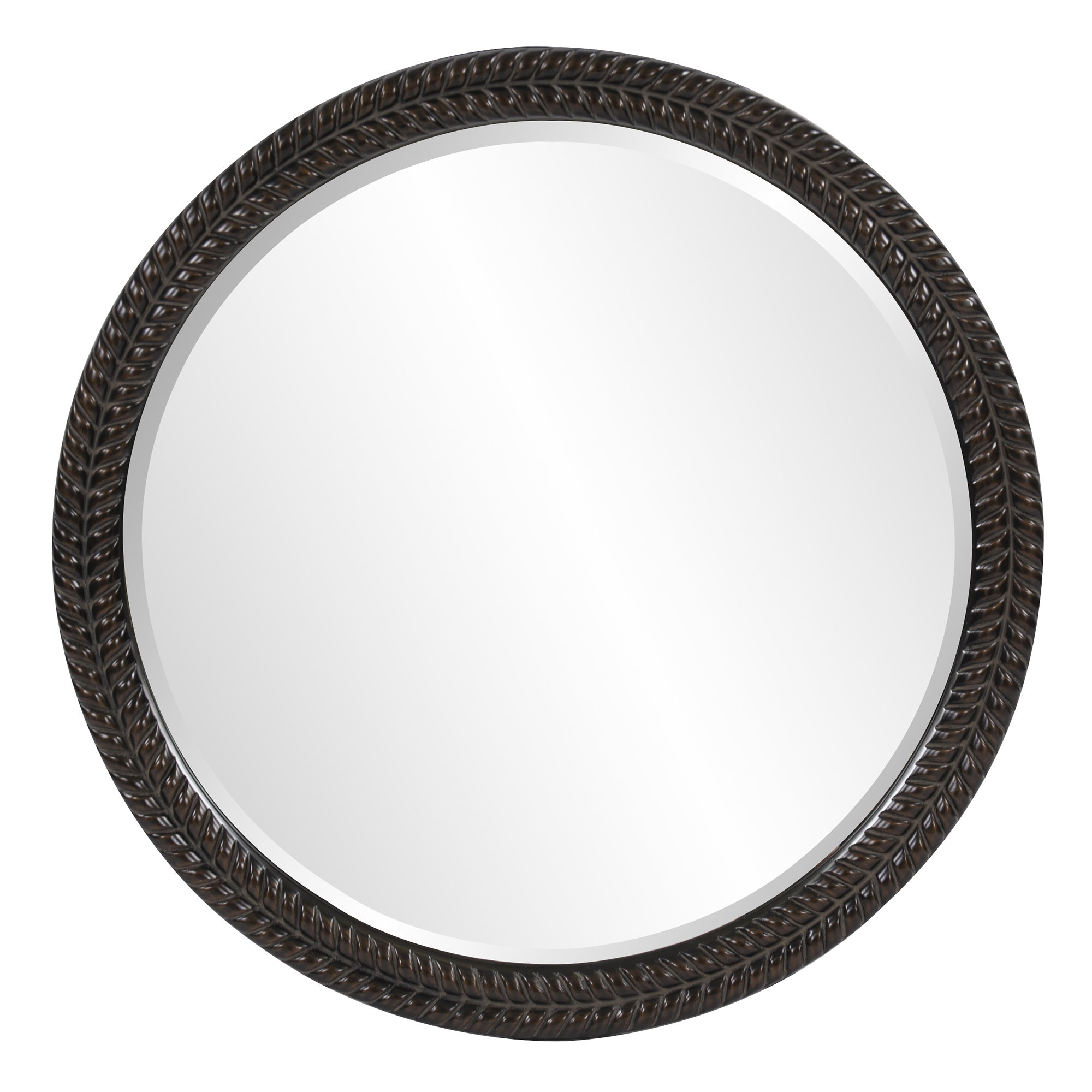 Garrison Accent Mirror & Reviews | Joss & Main Within Glen View Beaded Oval Traditional Accent Mirrors (View 14 of 20)