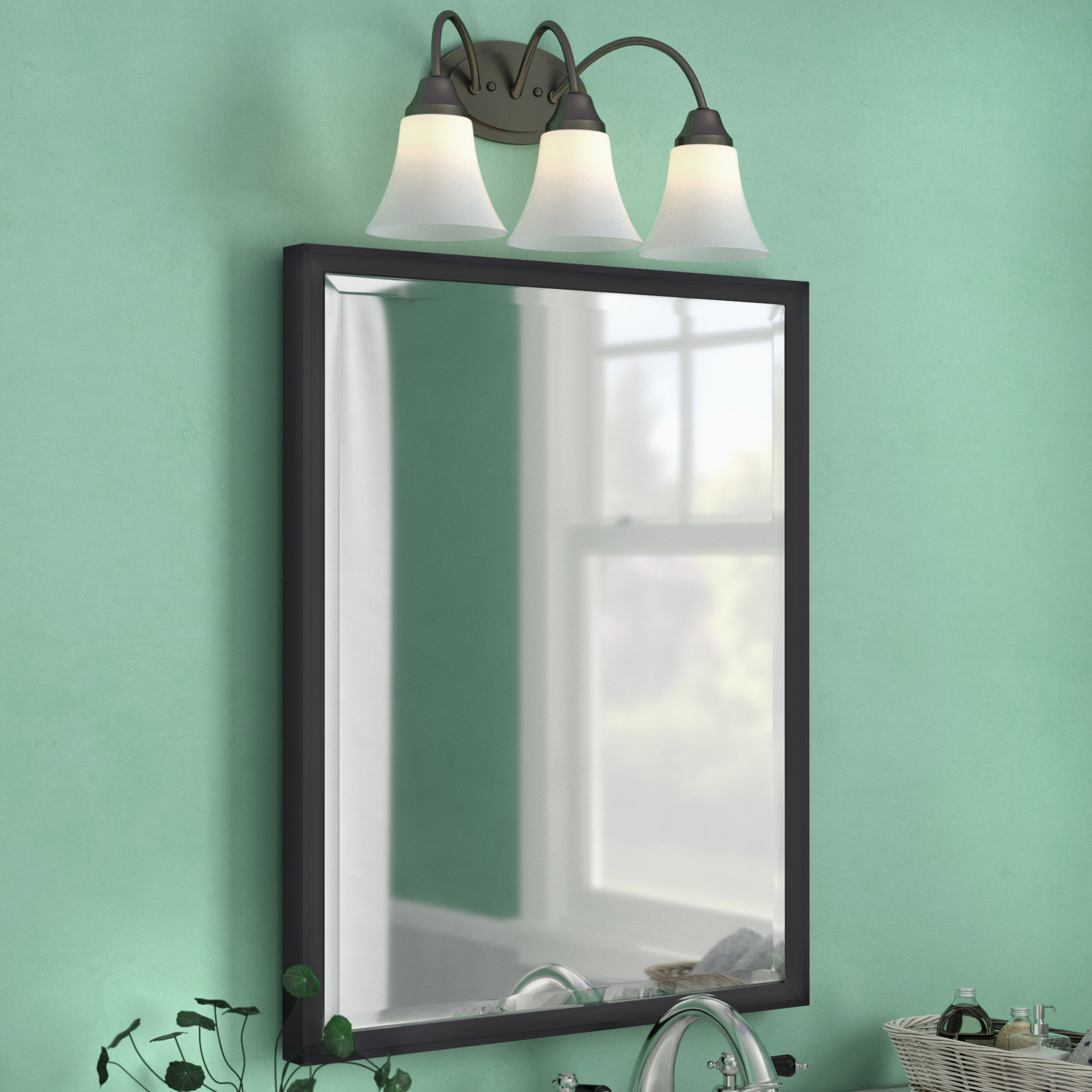 Gatsby Decorative Traditional Beveled Accent Mirror With Regard To Traditional Beveled Accent Mirrors (Image 5 of 20)