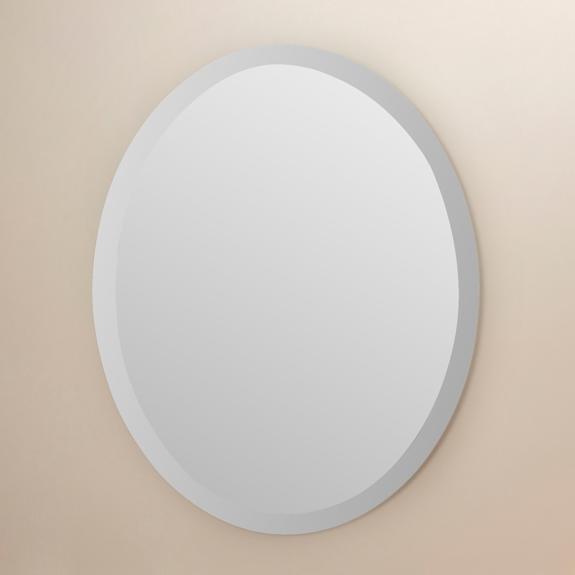 Gaunts Earthcott Modern & Contemporary Beveled Frameless Accent Mirror With Regard To Gaunts Earthcott Modern & Contemporary Beveled Accent Mirrors (Image 9 of 20)
