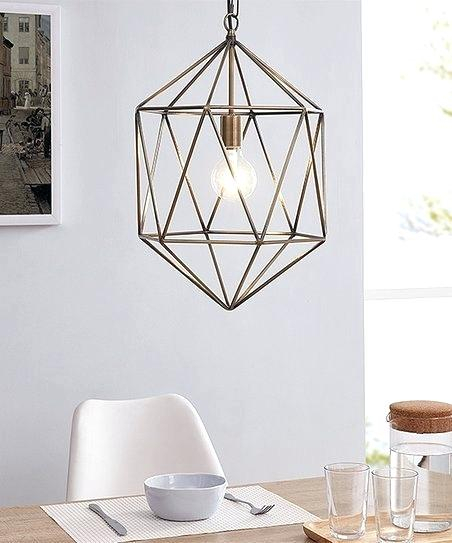 Geometric Pendant Light – Heartbeet (View 21 of 25)