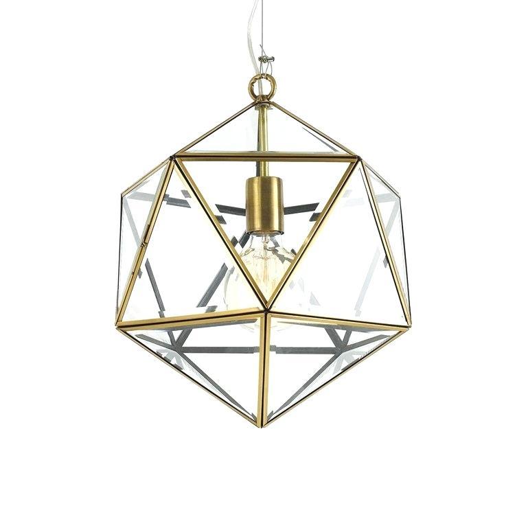 Geometric Pendant Light – Tanishanace (View 17 of 25)