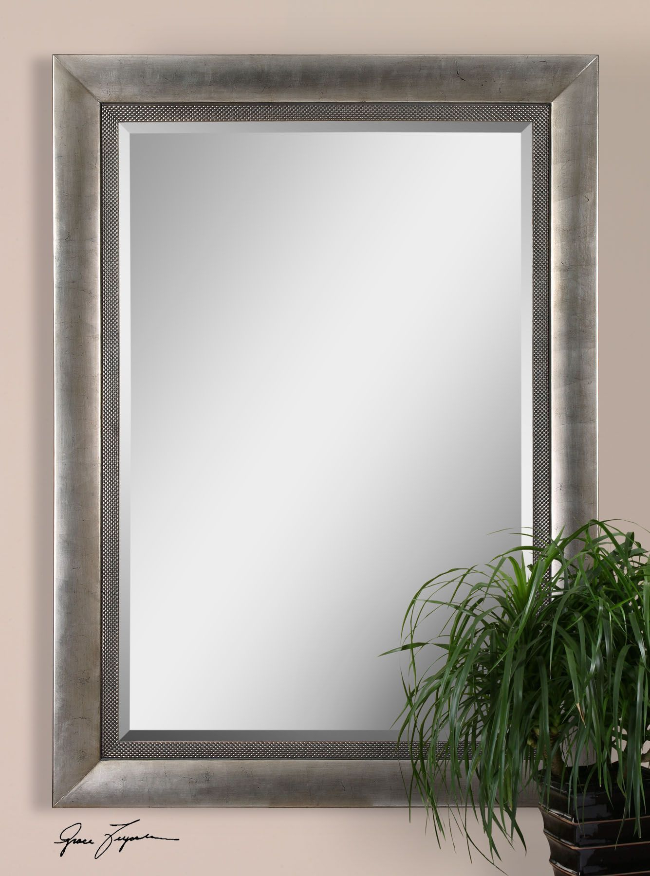 Gilford Antique Silver Mirror In 2019 | Products | Mirror Pertaining To Abdul Accent Mirrors (View 17 of 20)