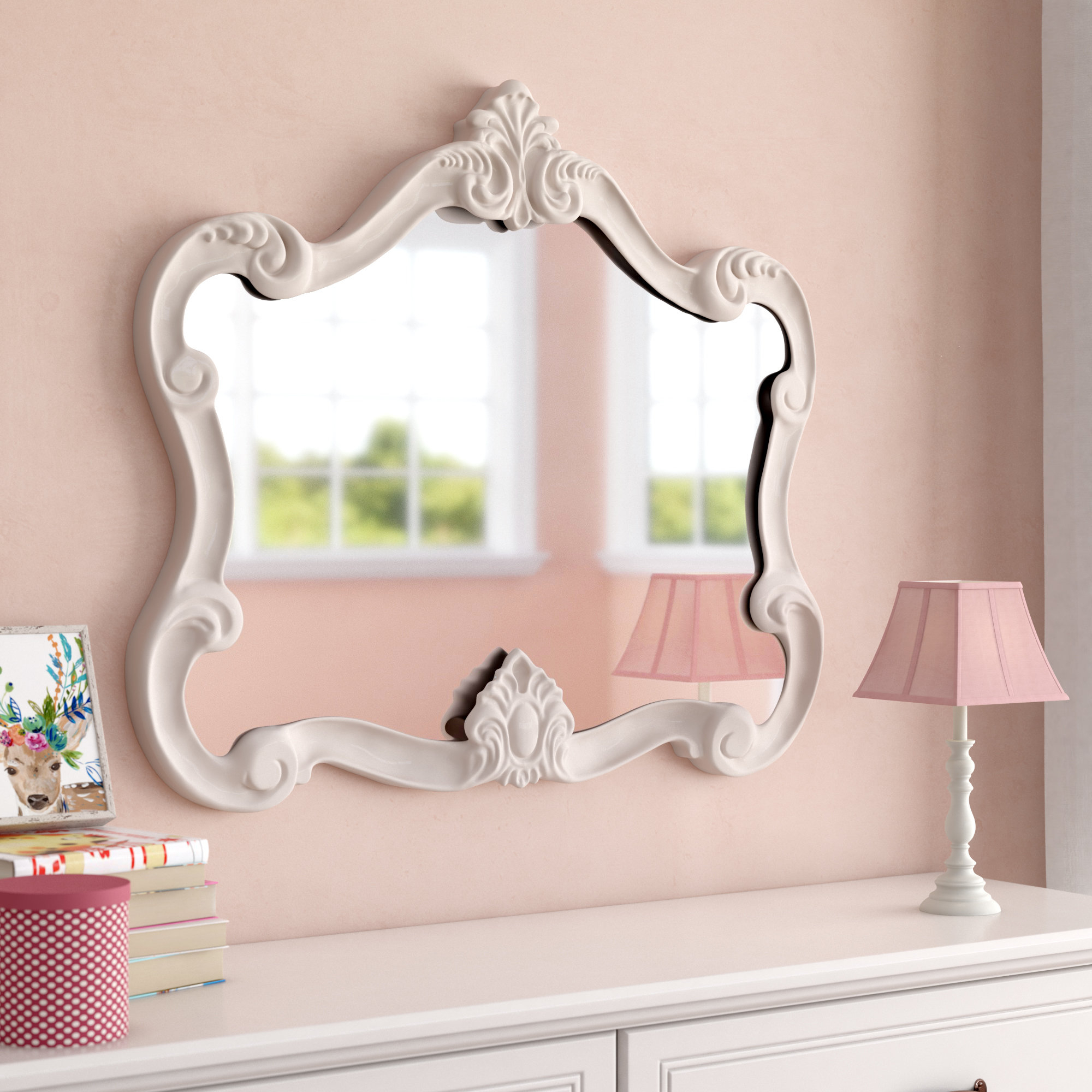 Gingerich Resin Modern & Contemporary Accent Mirror For Guidinha Modern & Contemporary Accent Mirrors (Image 6 of 20)