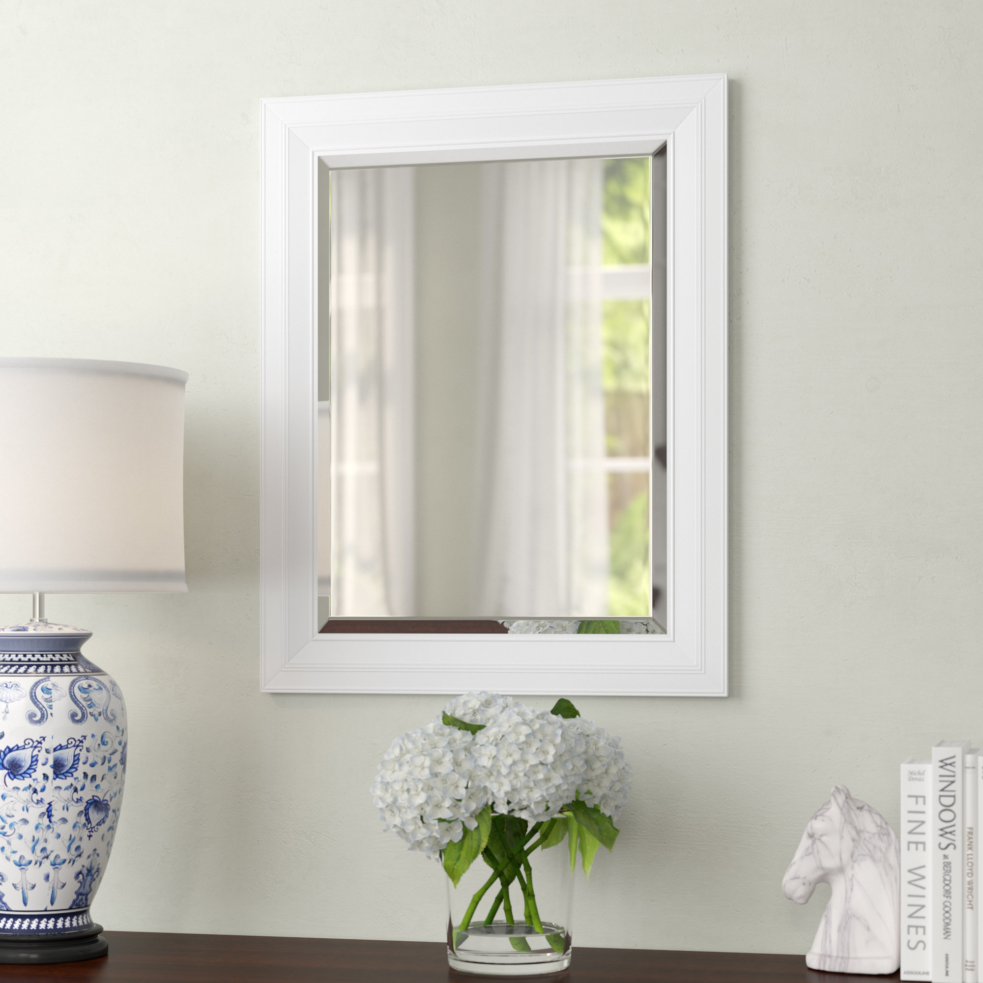 Giovanni Classic Decorative Traditional Beveled Accent Mirror In Traditional Beveled Accent Mirrors (Image 6 of 20)