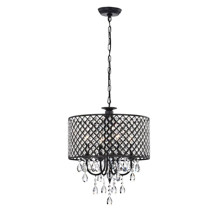 Gisselle 4 Light Drum Chandelier For Gisselle 4 Light Drum Chandeliers (View 3 of 20)