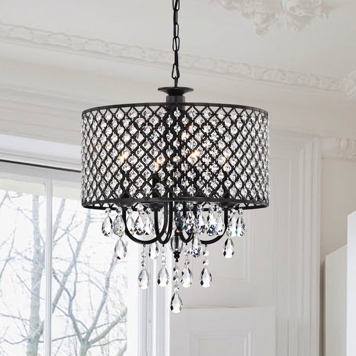 Featured Image of Gisselle 4 Light Drum Chandeliers