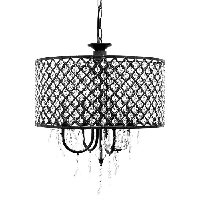 Gisselle 4 Light Drum Chandelier With Regard To Gisselle 4 Light Drum Chandeliers (View 5 of 20)