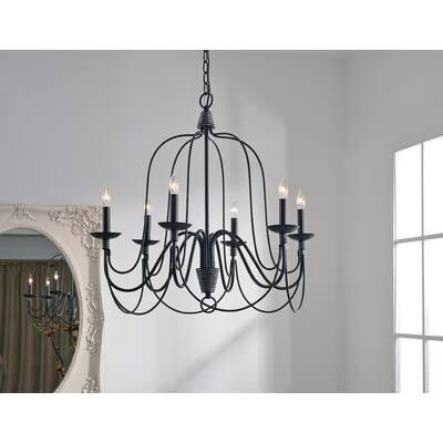 Giverny 9 Light Candle Style Chandelier In 2019 | Home Decor Within Armande Candle Style Chandeliers (View 16 of 20)