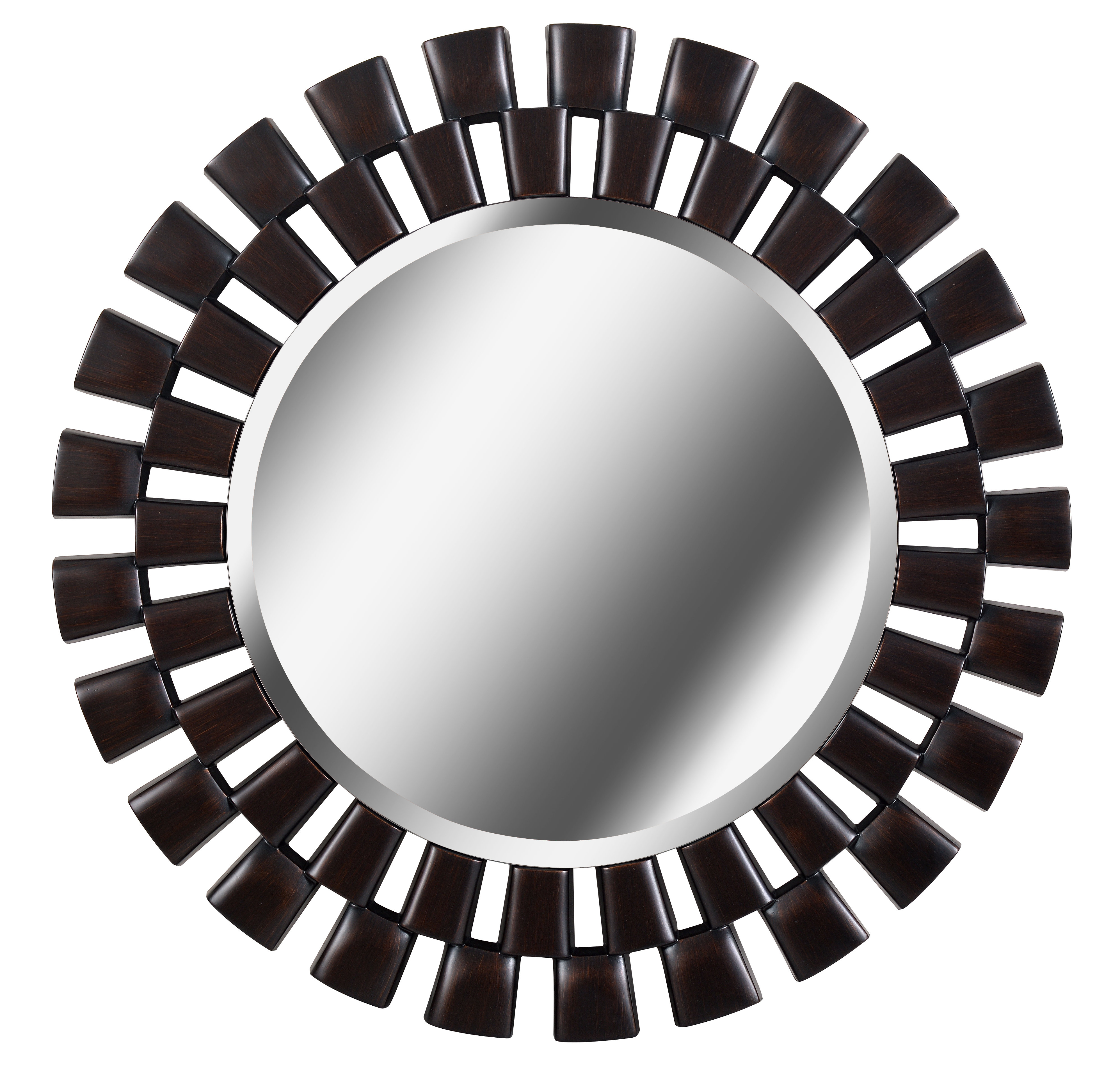 Glam Beveled Accent Mirror Intended For Glam Beveled Accent Mirrors (Image 7 of 20)