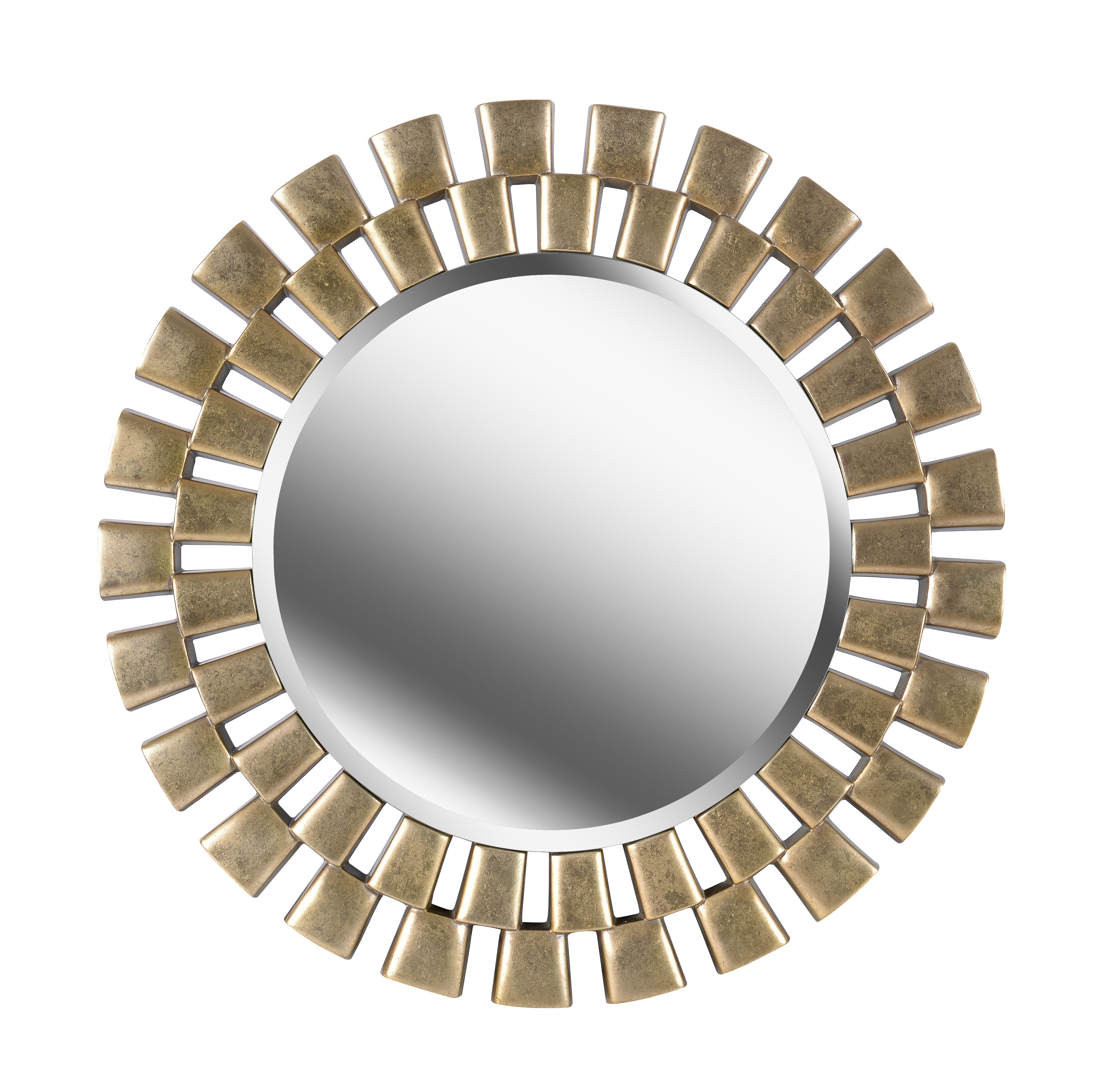 Glam Beveled Accent Mirror Pertaining To Lake Park Beveled Beaded Accent Wall Mirrors (View 14 of 20)