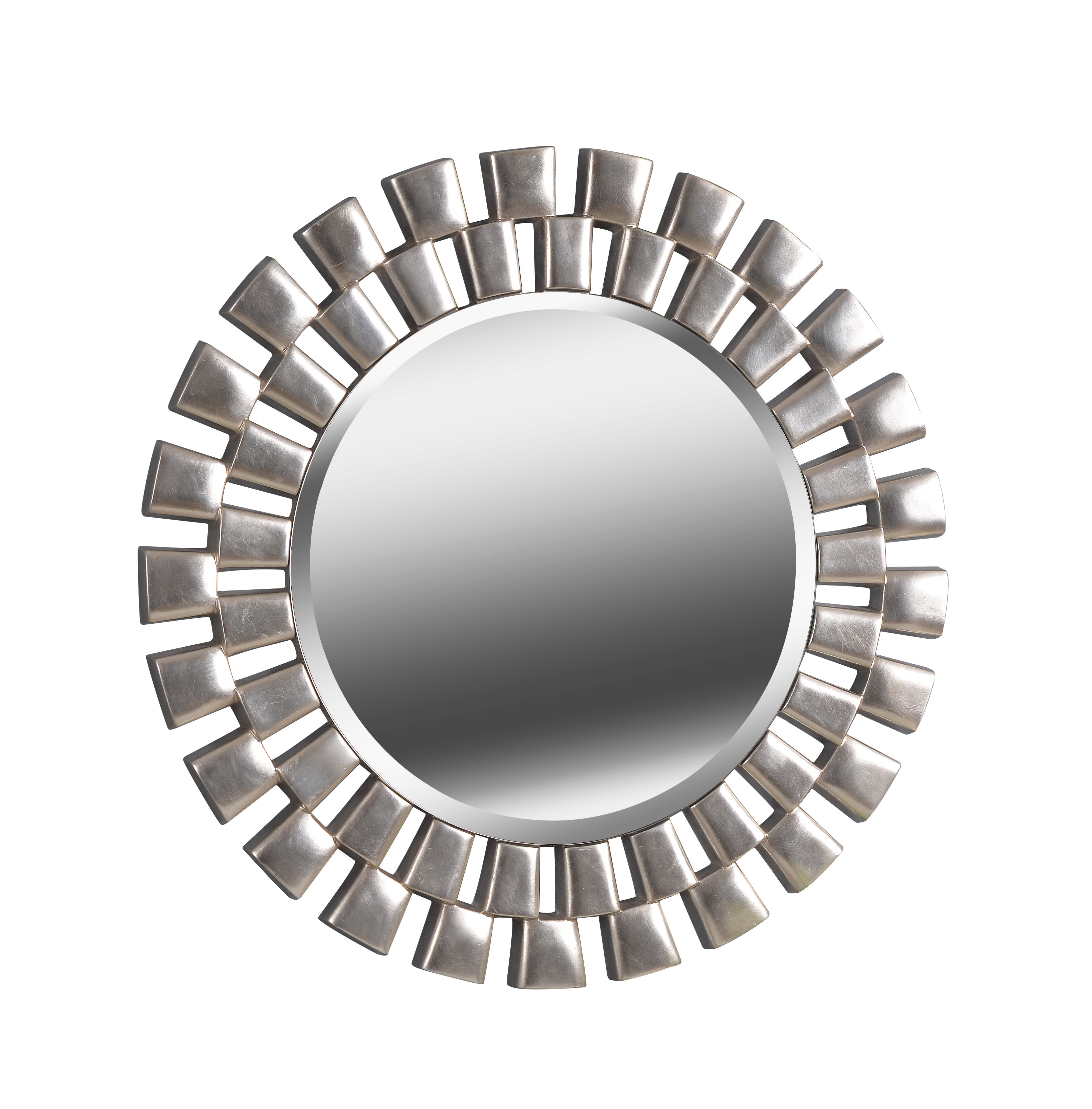 Glam Beveled Accent Mirror Pertaining To Trigg Accent Mirrors (View 17 of 20)
