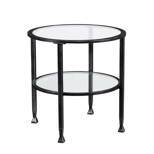 Glass End Tables You'll Love In 2019 | Wayfair With Regard To Porch & Den Urqhuart Wood Glass Coffee Tables (Image 19 of 50)