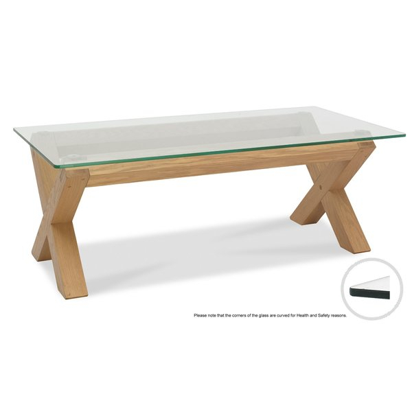 Glass Top Display Coffee Table | Wayfair.co (View 7 of 50)