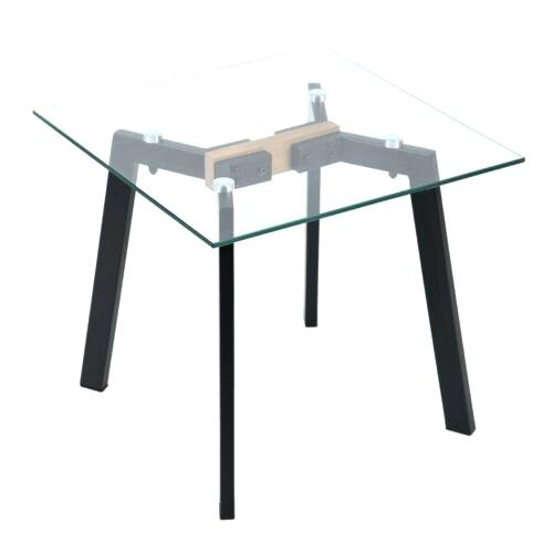 Glass Top End Tables Metal – Odiliazullo (Image 25 of 50)