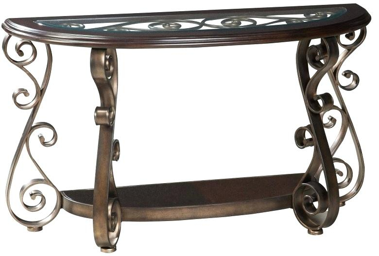 Glass Top Sofa Table – Thosetechguys Within Furniture Of America Charlotte Weathered Oak Glass Top Coffee Tables (Image 27 of 50)